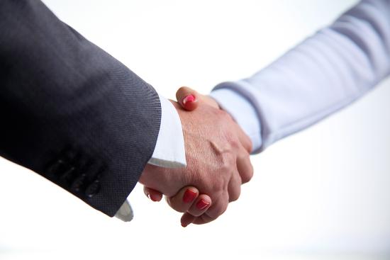 Handshake Treasurer und Cashmanager